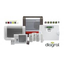 Pack alarme Diagral GSM +...